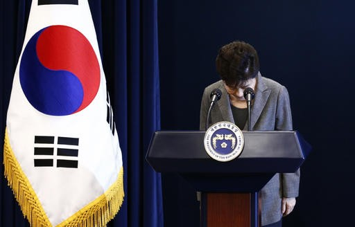 South Korea's president denies all charges