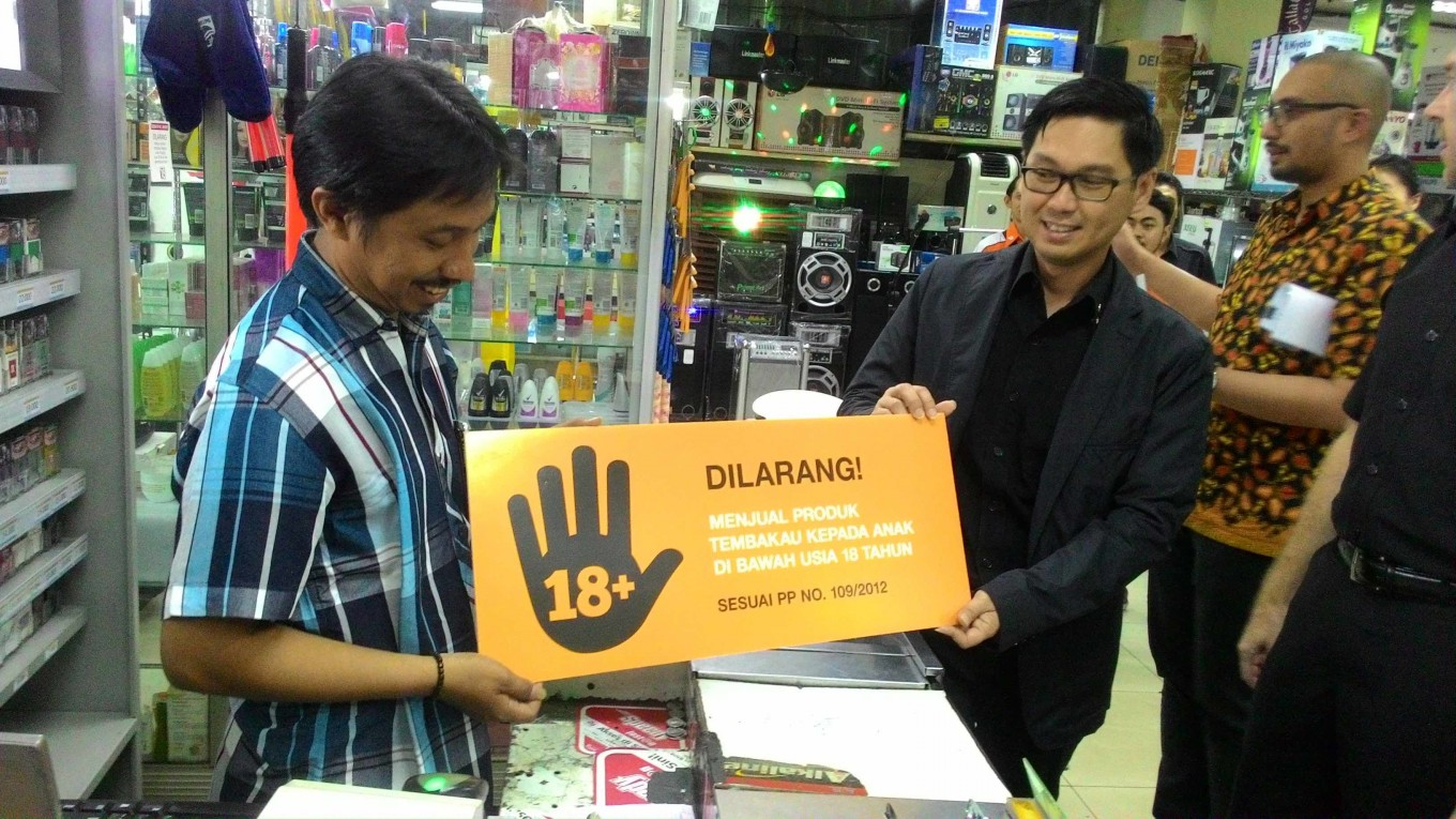 underage smoking Tobacco giant joins campaign against underage smoking