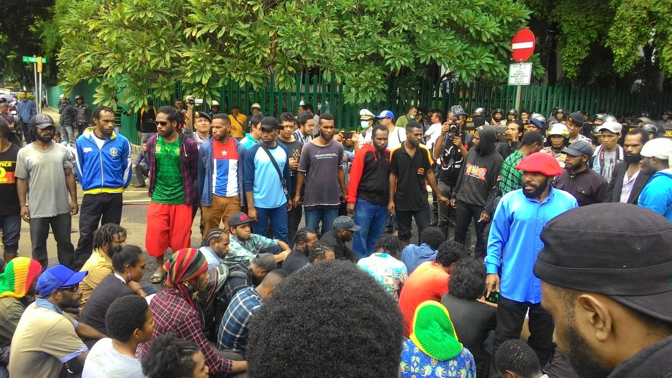 Participants of West Papua rally arrested