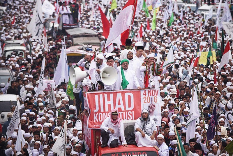 Leader of anti-Ahok rally summoned over Dec. 2 protest