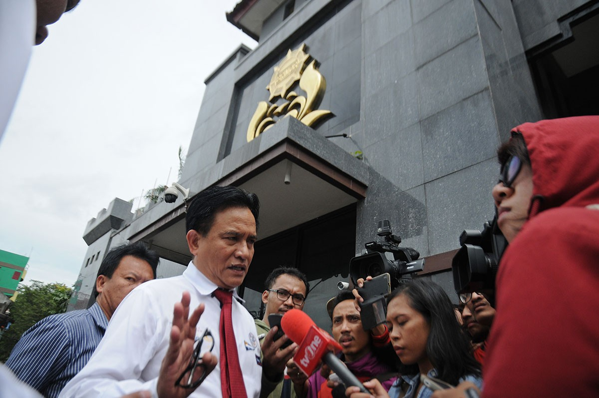 Legal expert Yusril to advise Jokowi-Ma'ruf ticket