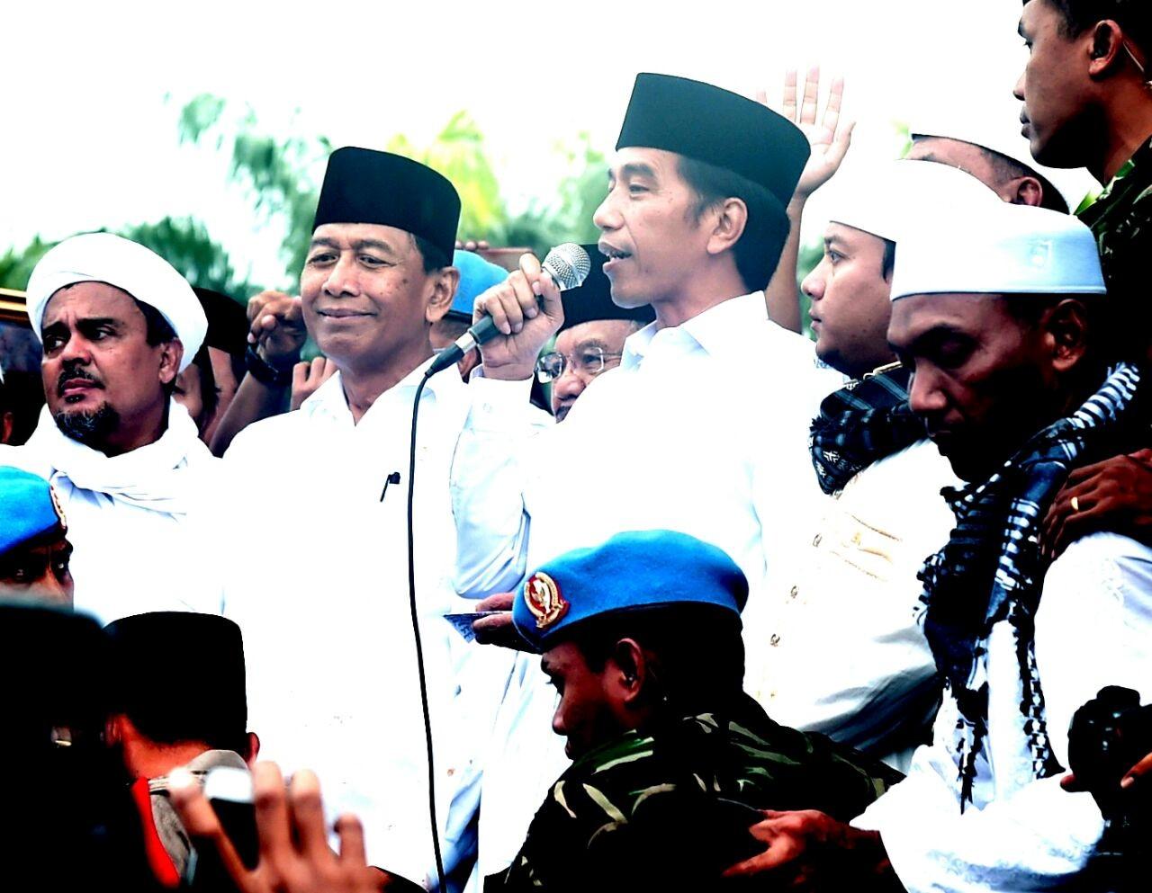 Jokowi accused of promoting secularism