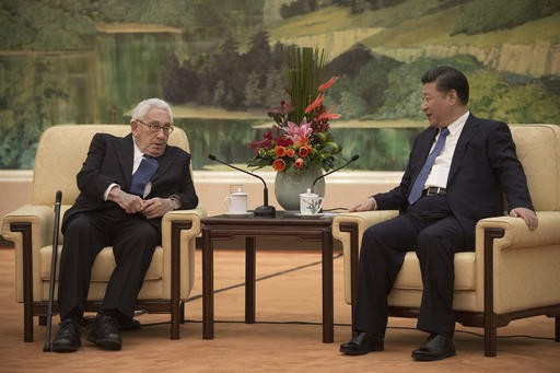 United States and China in foothills of a cold war, says Henry Kissinger