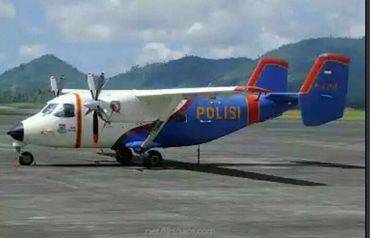 Police plane crashes in Riau Islands waters, 13 feared dead