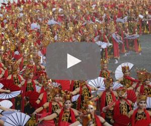 Banyuwangi dance bonanza