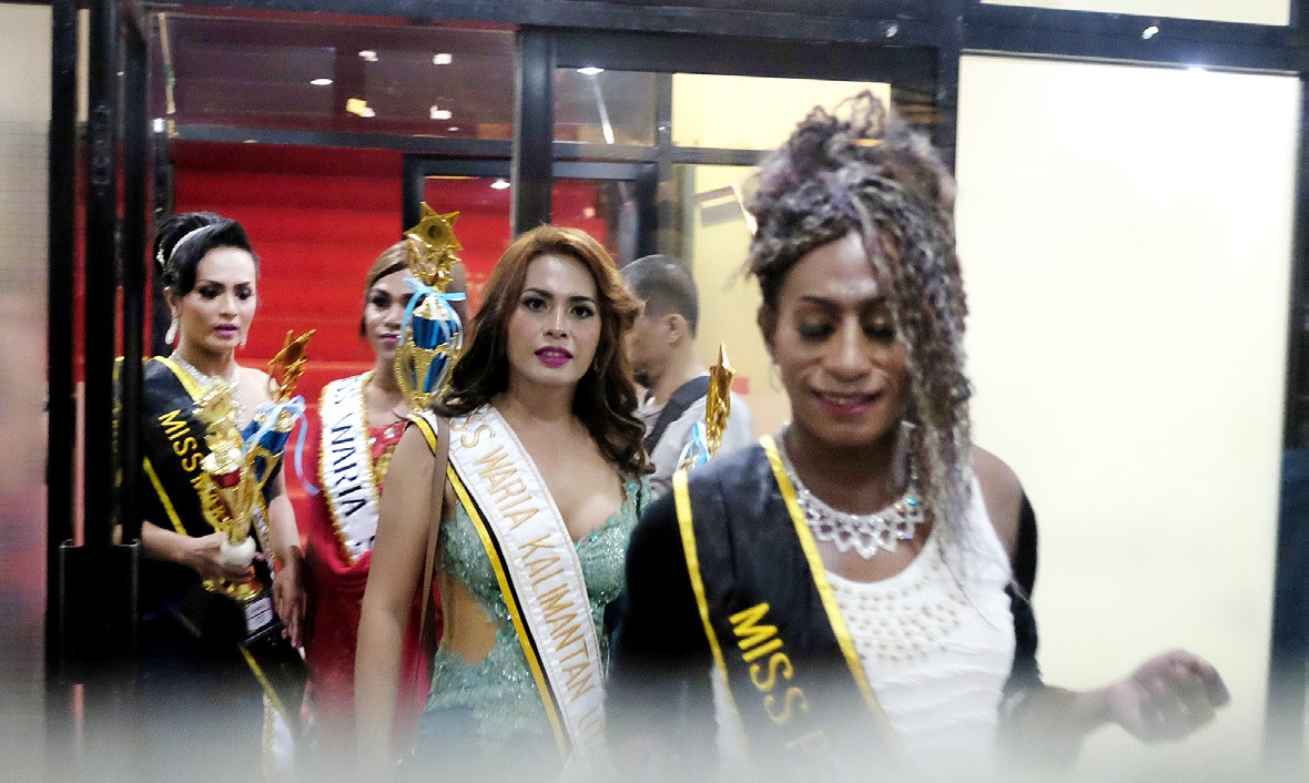 Diverse Beauties: Contestants representing many different areas of