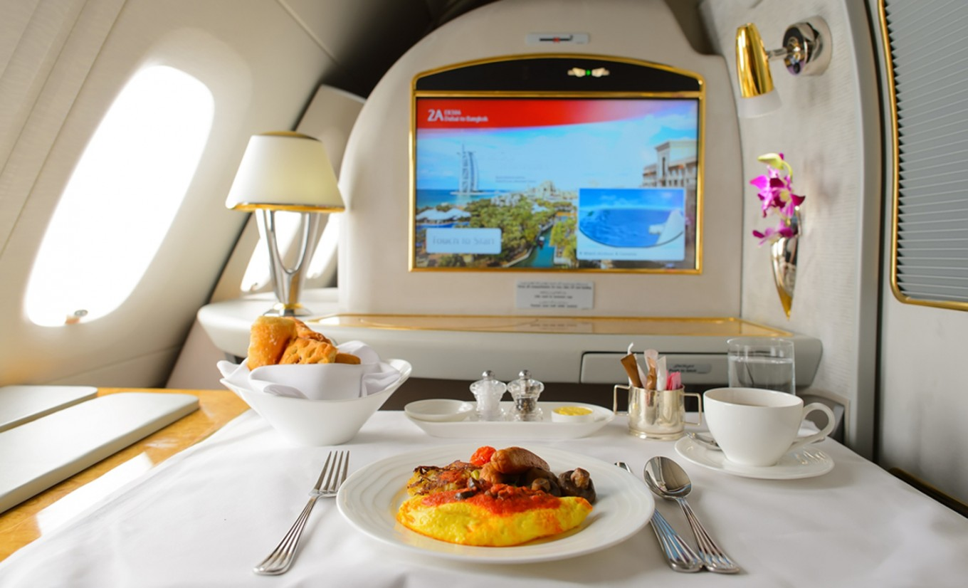 Dining in the sky: Inside Emirates in-flight catering