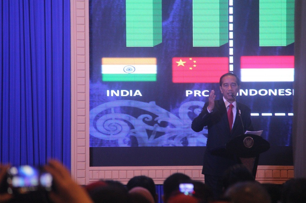 Jokowi dismisses concerns over Chinese workers in Indonesia