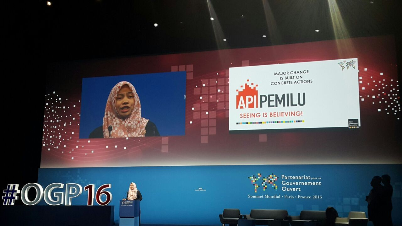 Indonesia's Perludem wins 3rd Open Government Award at OGP Summit