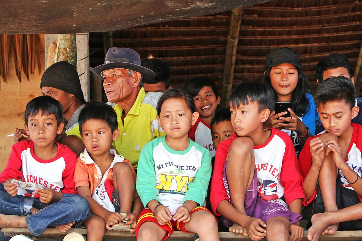 Up close: Old and young people gather together in a village in Toraja. JP/ PJ Leo