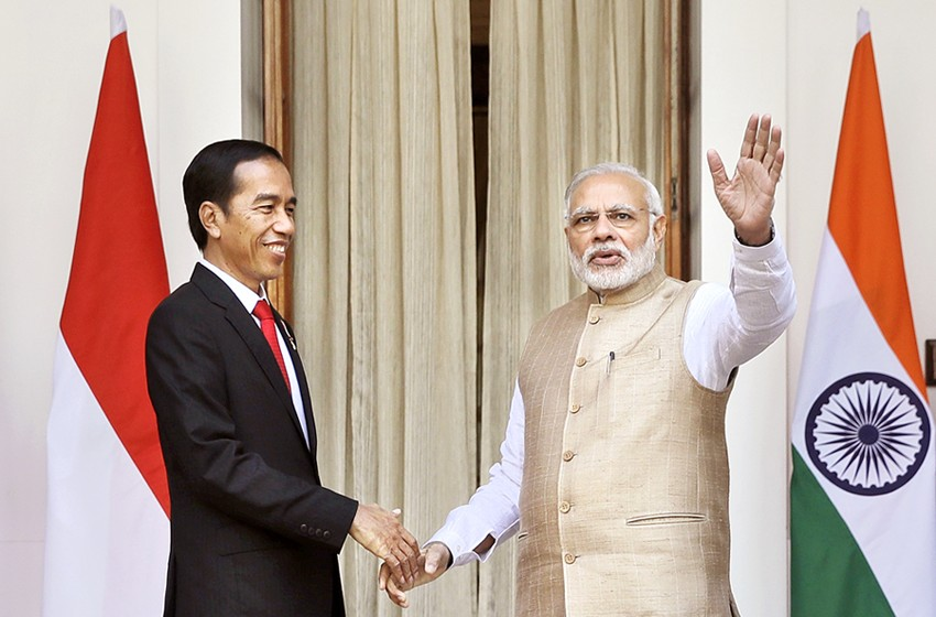 Jokowi arrives in india to tap potential business the jakarta post jokowi arrives in india to tap potential reheart Images