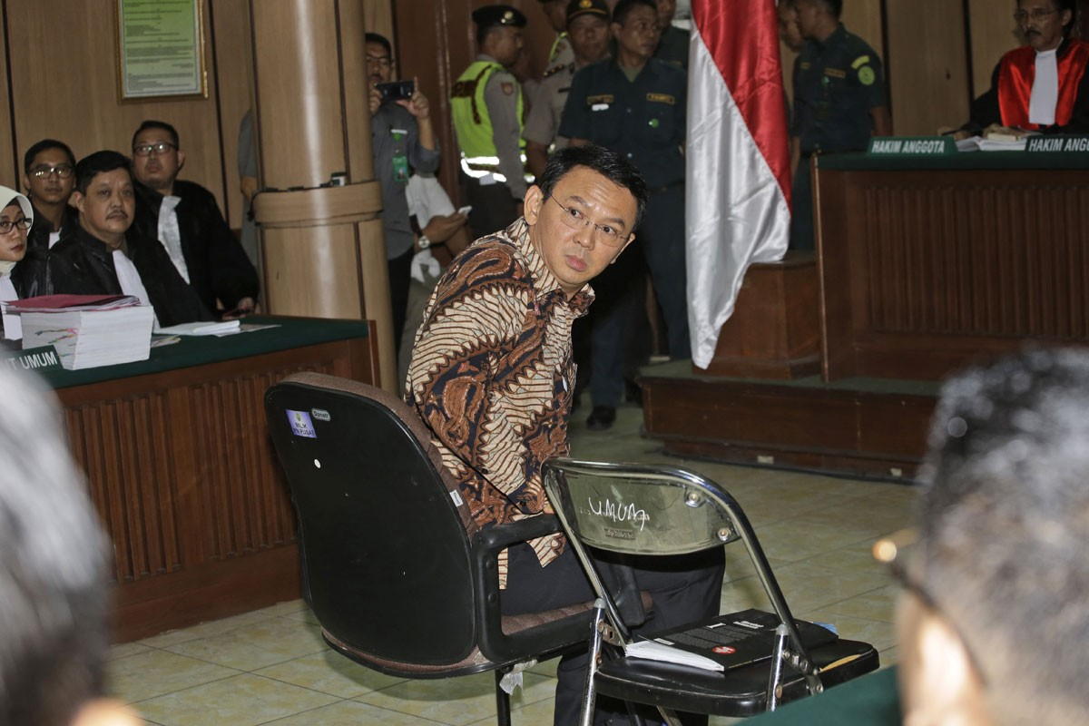 I am very sad about my blasphemy accusation: Ahok