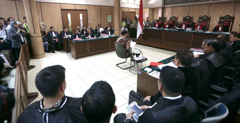 Ahok's blasphemy trial begins