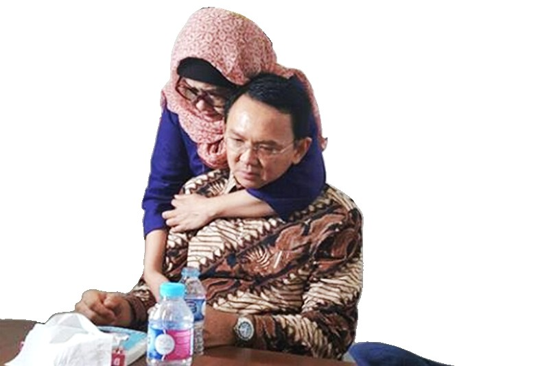 Ahok's tears increase support from Muslim voters: Pollster