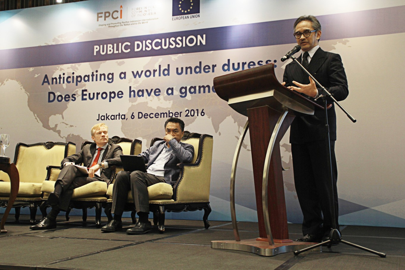 EU, Indonesia seeks greater cooperation on maritime security