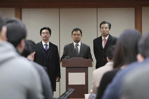South Korean president's lawyers argue for impeachment reversal