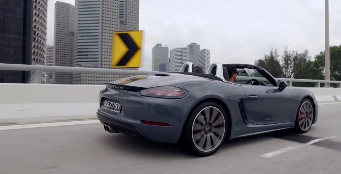 Porsche 718 Boxster S: First drive review