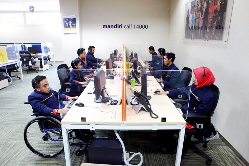 More companies committed to employing disabled people