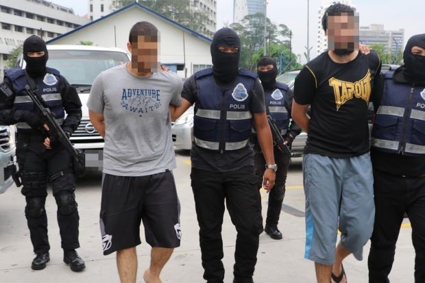 Foreign students among seven IS militants nabbed in Malaysia