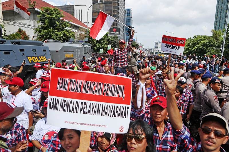 Ahok supporters finding new strength