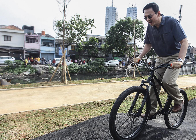 Ahok set to inaugurate Kalijodo park as governor on Sunday