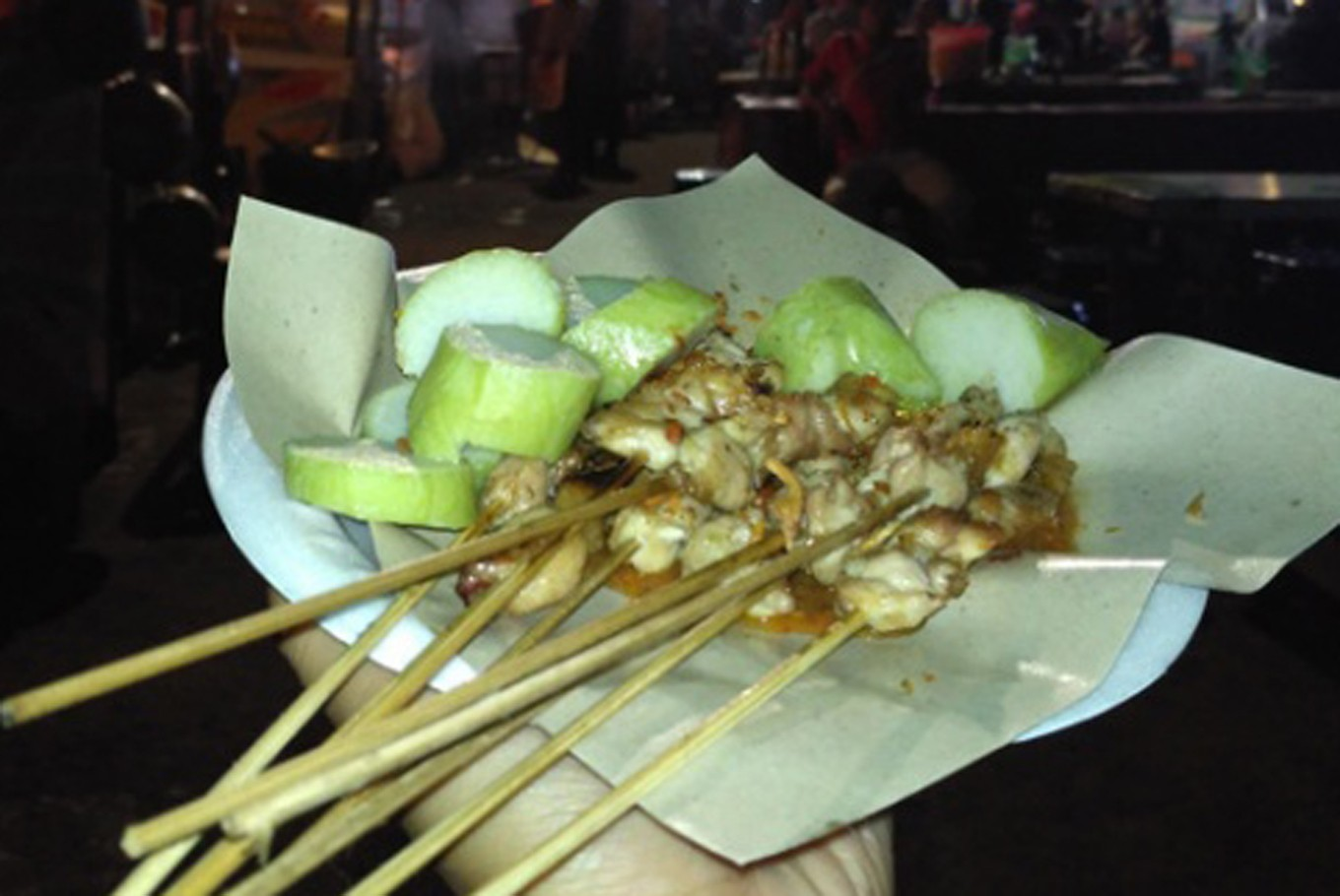 Introducing 'sate taichan,' Jakarta's popular spicy satay dish