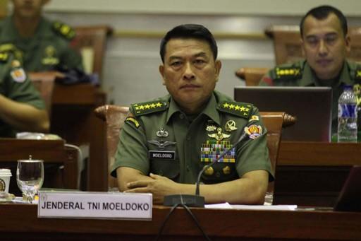Presidential Chief of Staff Moeldoko.