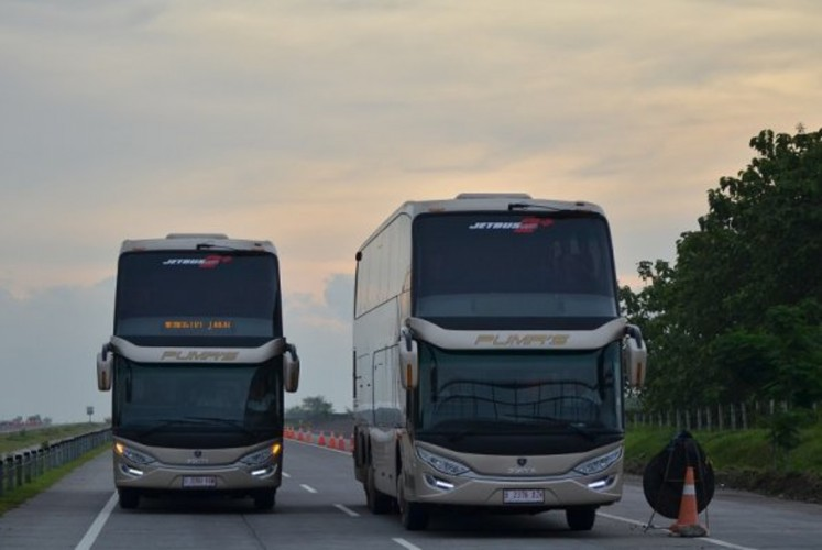 Luxury bus bookings on the rise ahead of Idul Fitri