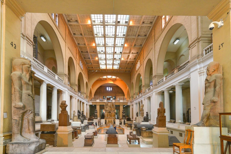 Egypt disinfects landmark museum as virus fears grow