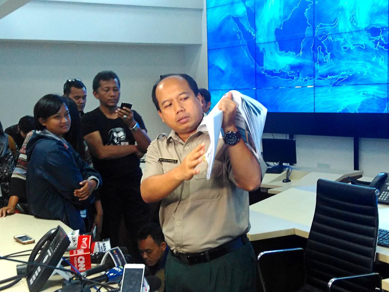 When disaster strikes, keep calm and listen to 'Pak' Sutopo
