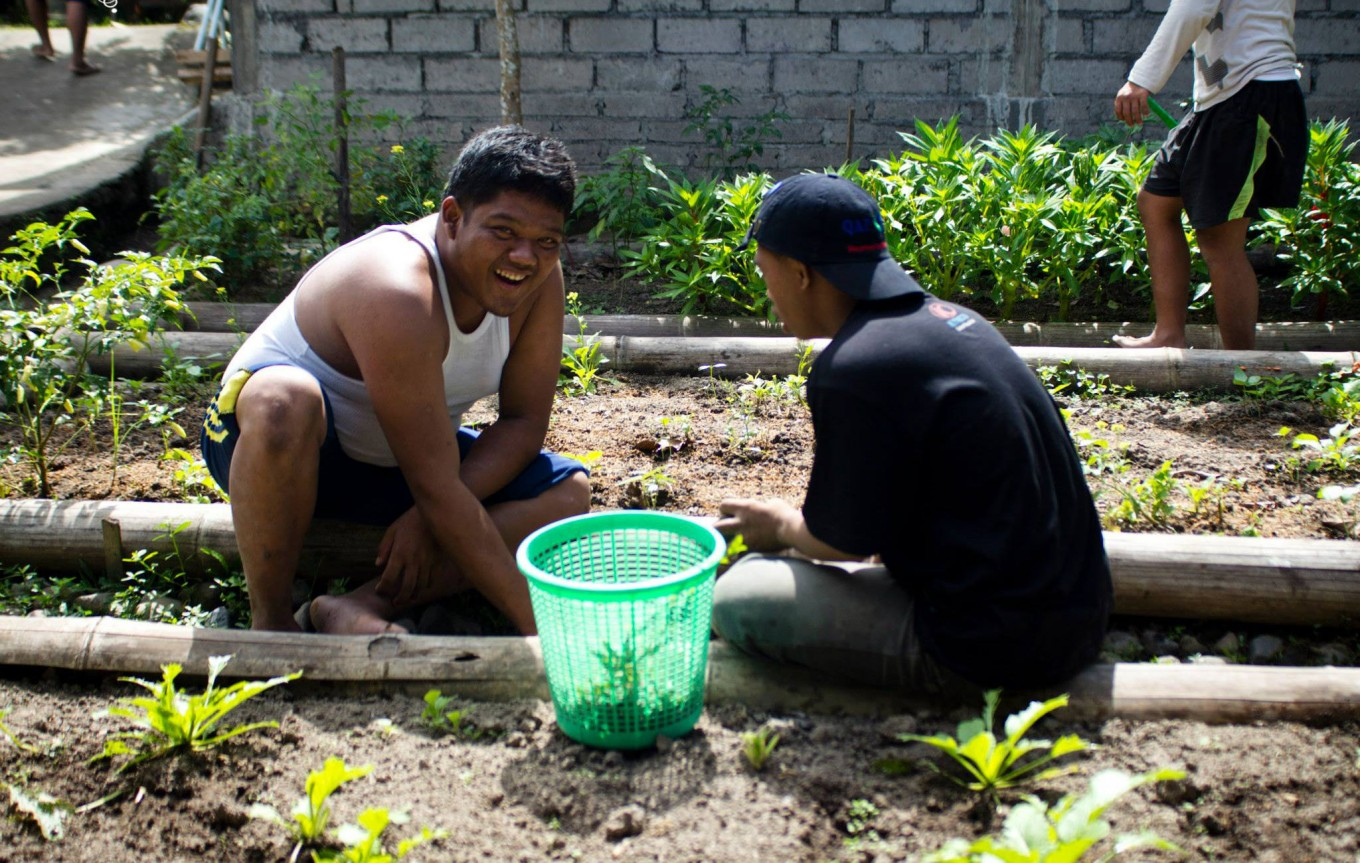 Balinese foundation treats autistic children with organic food