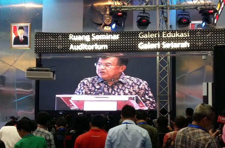 Vice President Kalla opens stock market's first trading day