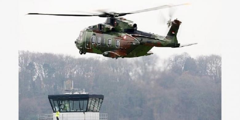 Air Force marshall named suspect in chopper graft
