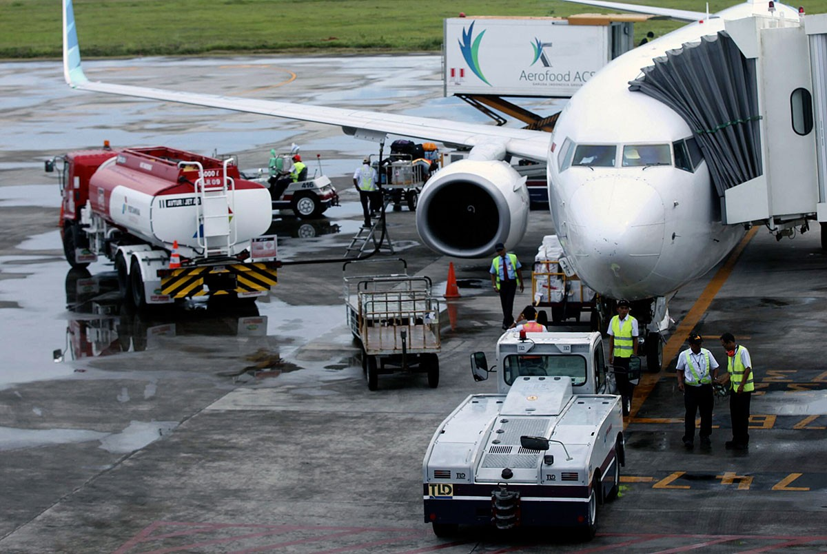 Pertamina stops importing jet fuel following decrease in flights