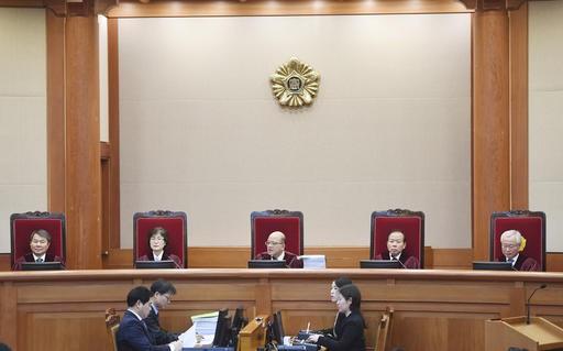 South Korean lawmaker accuses president of violating constitution