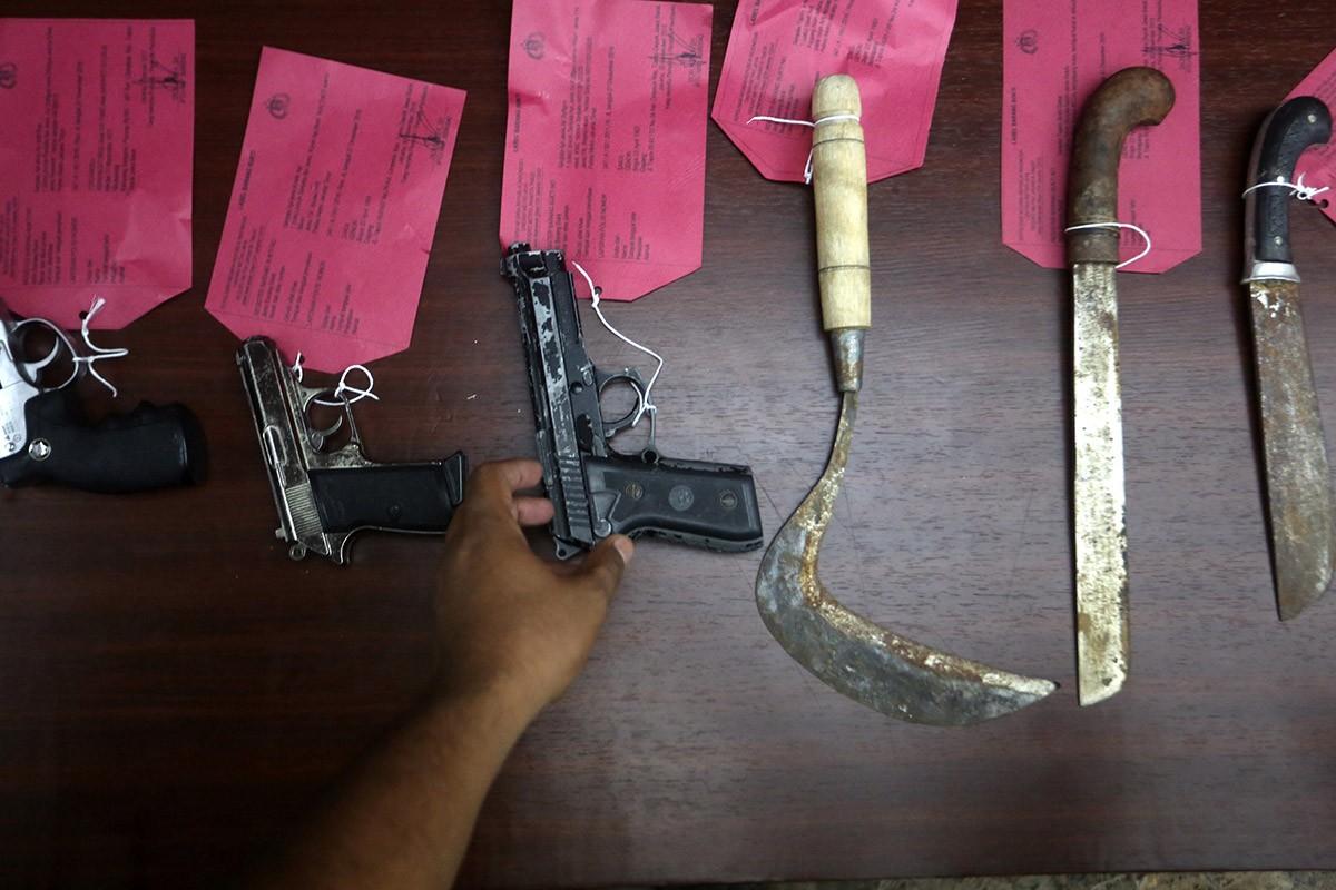 Teenagers carry swords, plan brawl in Depok