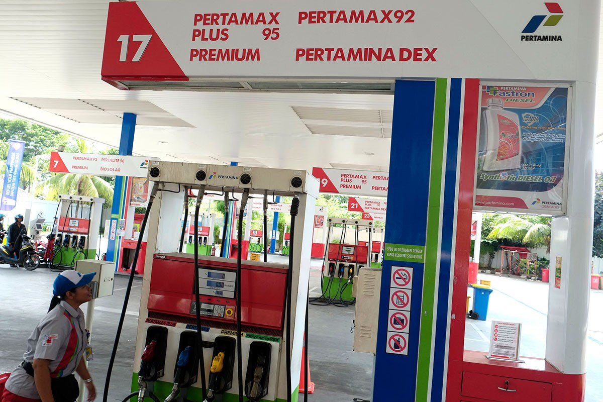 Pertamina again lowers Pertamax prices to promote nonsubsidized fuel