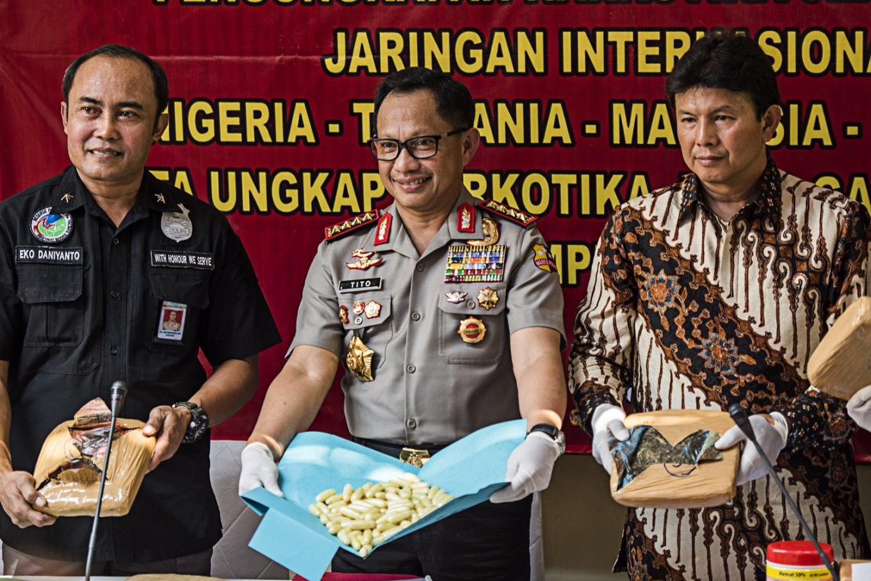 Tangerang court sentences four drug convicts to death