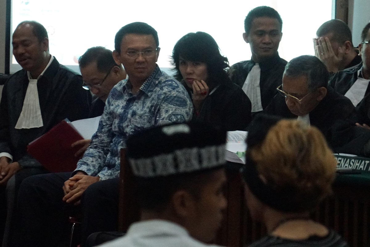 Blasphemy trial a blessing in disguise for Ahok: Pollster