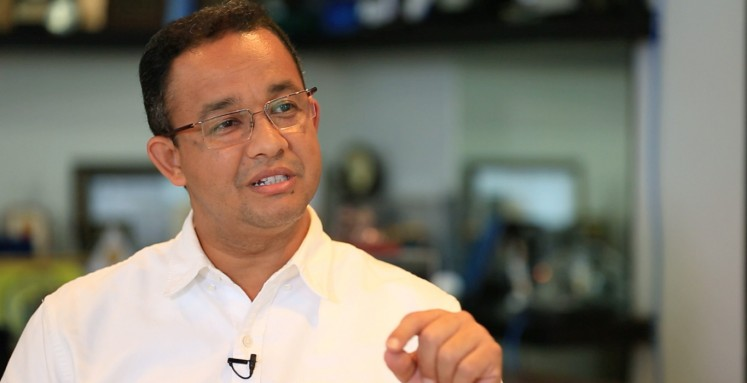 Anies Baswedan: On maintaining relationships, tolerance in the capital