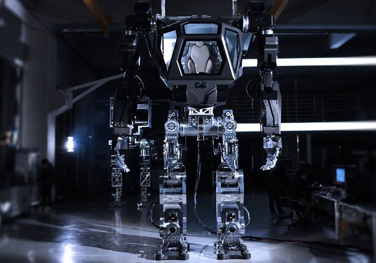 'Avatar' style robot takes baby steps in South Korea