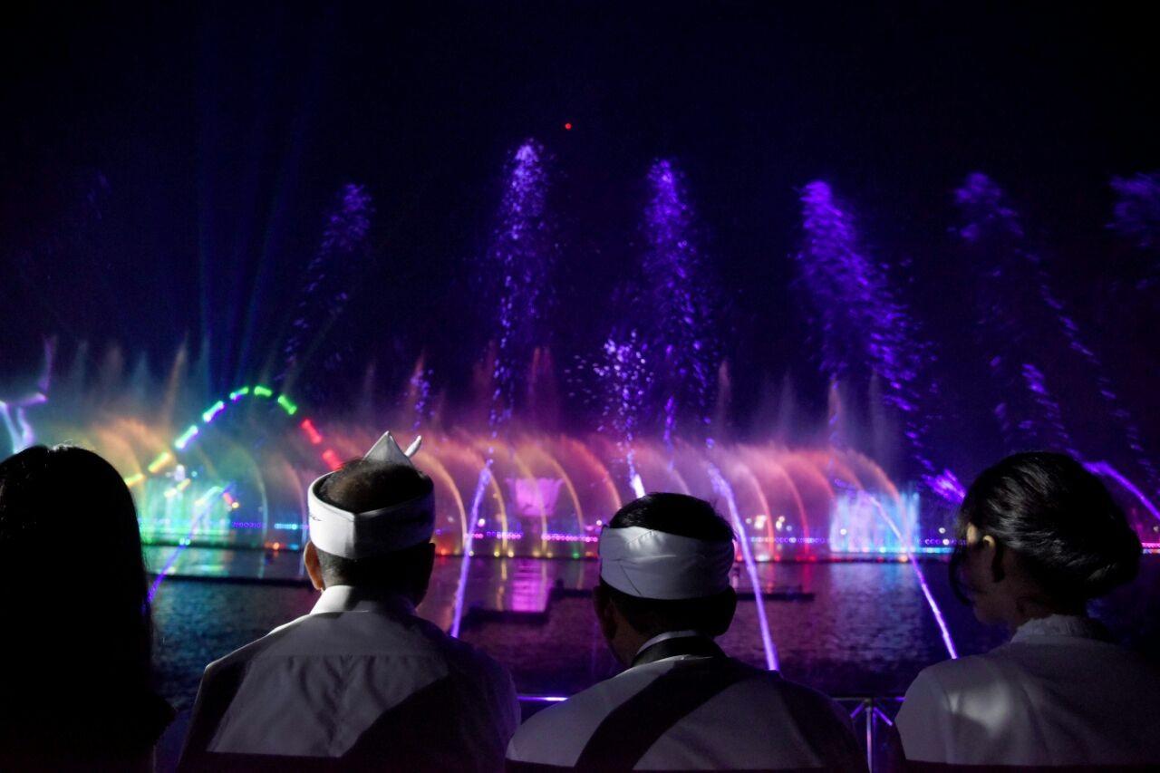 Minister Arief Yahya praises Sri Baduga waterpark in Purwakarta
