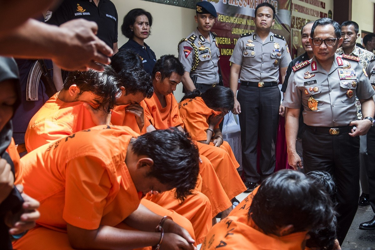 Indonesia's war on drugs takes deadly turn