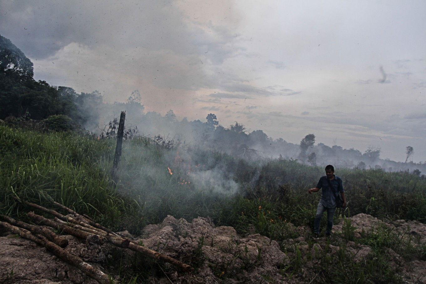 preventing forest fires A brief spell of rainfall in indonesia has minimized the number of fire hot spots  that have been spewing toxic smoke across the country  for.