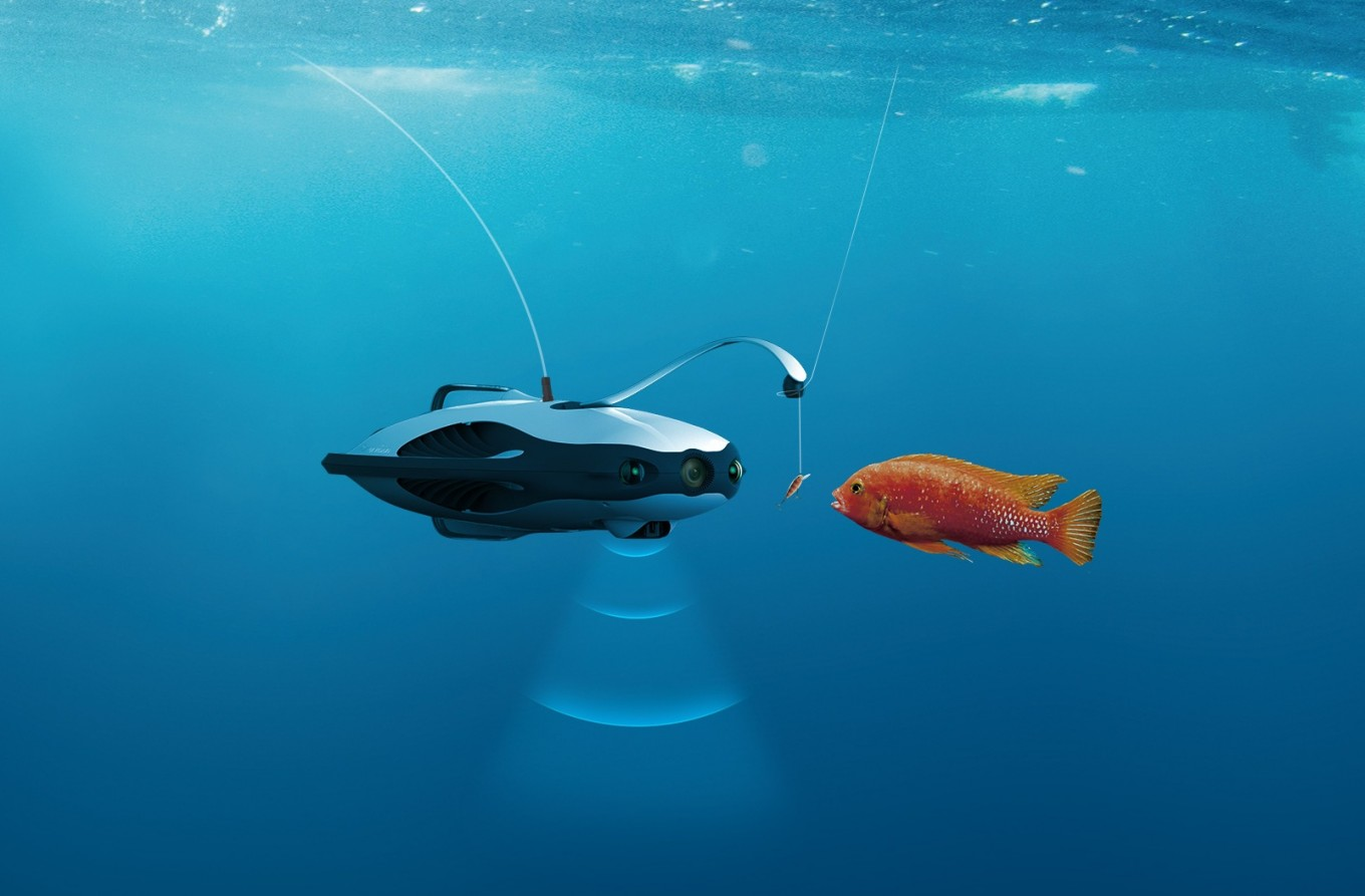 This fishing drone is what anglers have been waiting for