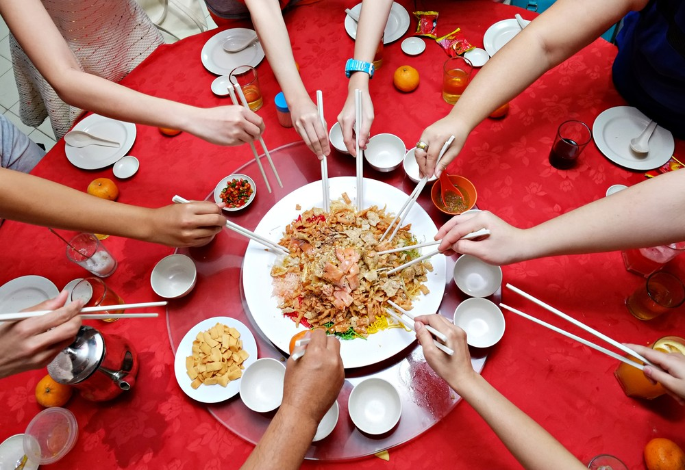 chinese new year delicacies positive wishes on the dining table food the jakarta post chinese new year delicacies positive