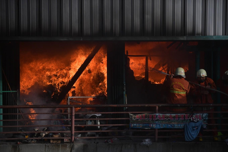 History of fires at Senen Market