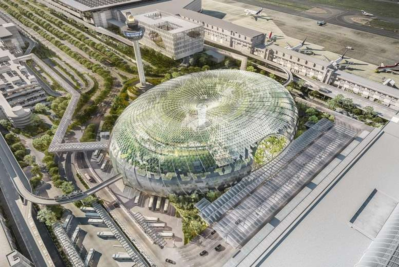 What to anticipate at Changi's Jewel complex slated for 2019