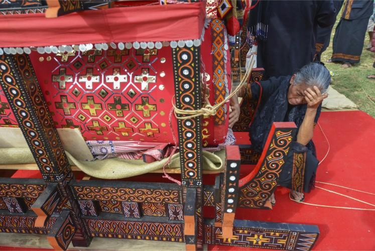 Respecting the dead in Toraja