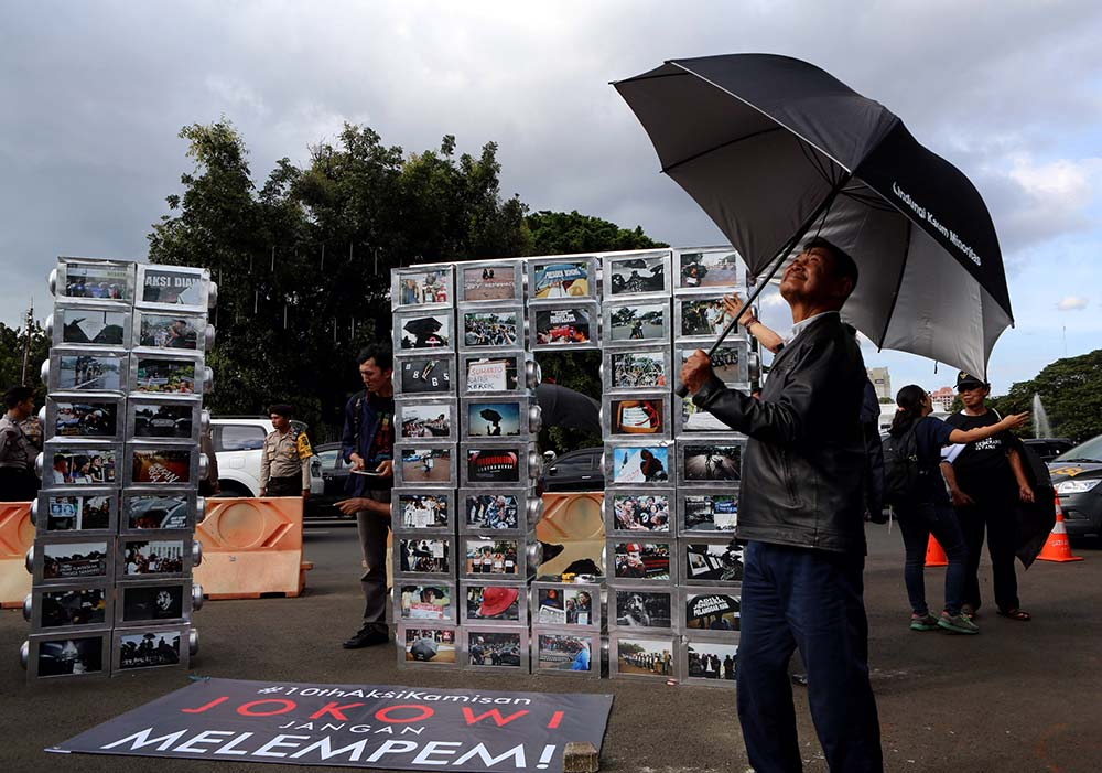 10th anniversary of Kamisan silent protest in pictures